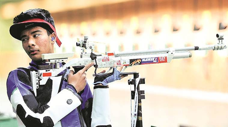 Khelo India Youth Games, Khelo India Games, Dhanush Srikant shooting, Mehuli Ghosh shooting, India Youth Games, sports news, indian express news