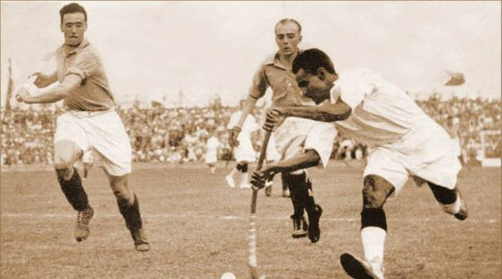 Dhyan Chand gave Indian hockey its identity guiding the nation to three Olympic gold medals in 1928 (Amsterdam), 1932 (Los Angeles) and 1936 (Berlin).
