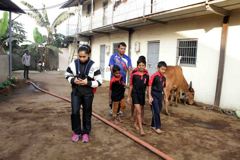 Dipa Karmakar's stopover at obscure Bapgaon on road to Tokyo Olympics