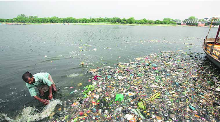 Rubbish heaps close to ghats in 72 towns along Ganga river: Study
