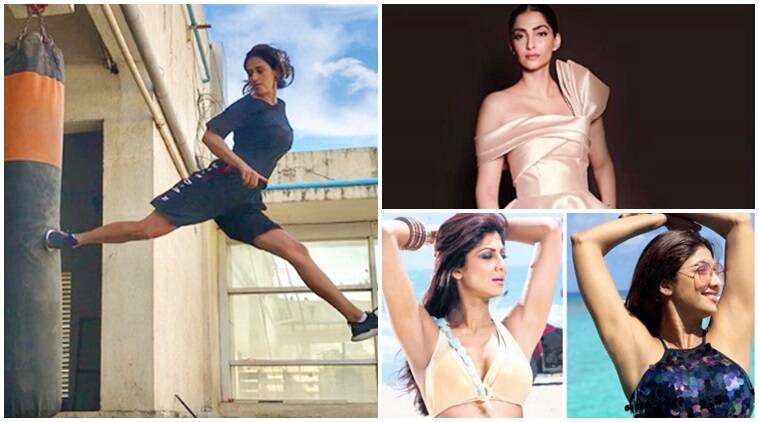 Have you seen these videos of Disha Patani, Sonam Kapoor and Shilpa Shetty?