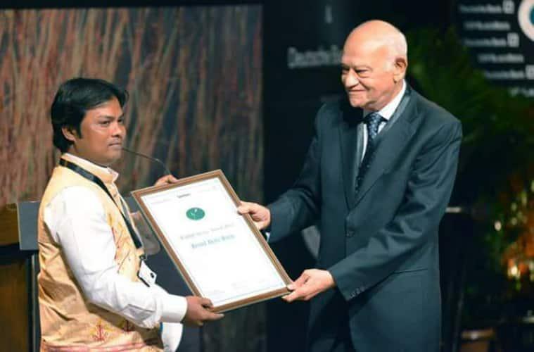 Binod Dulu Borah, wildlife rescue. Sanctuary asia award