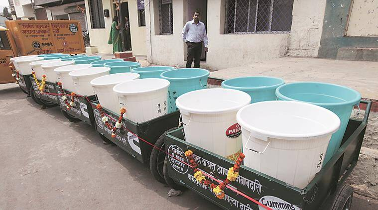 Pune: Corporators oppose civic body's proposal to stop distribution of free garbage bins