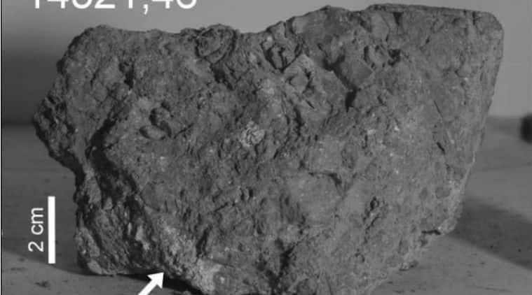 earth rock found on moon, earth, moon, earth rock, earliest earth rock, apollo 14, earth rock moon, moon rock from earth