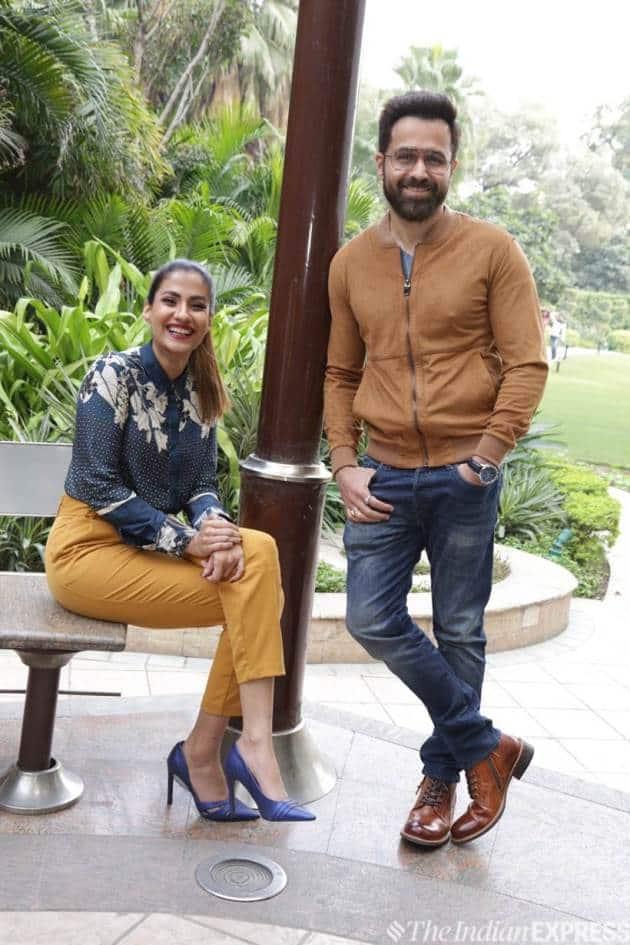 emraan hashmi and shreya dhanwanthray
