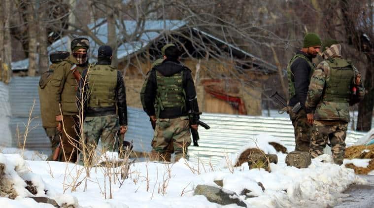 jammu and kashmir, militants killed, baramulla, jammu and kashmir police, indian express news