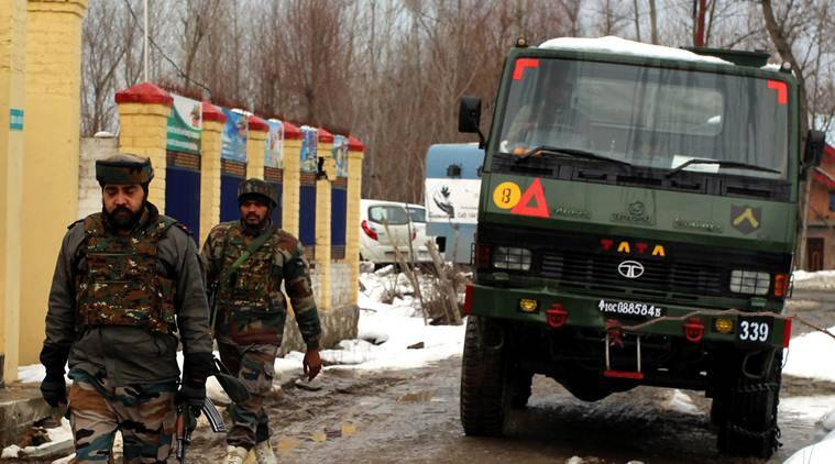 jammu and kashmir, militants killed, baramulla, jammu and kashmir police, indian express news