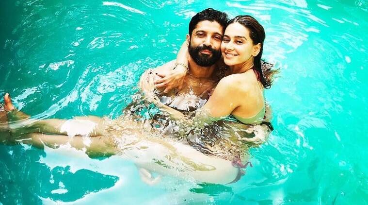 farhan akhtar girlfriend shibani dandekar photos wedding rumours