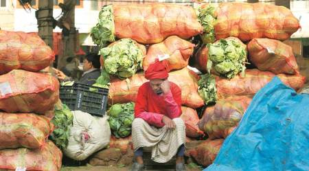 farmers produce, APMC, private players, Gujarat news, Indian express news