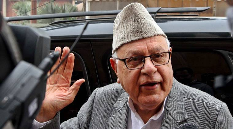 farooq abdullah files nomination, lok sabha elections 2019, lok sabha polls 2019, elections 2019,
