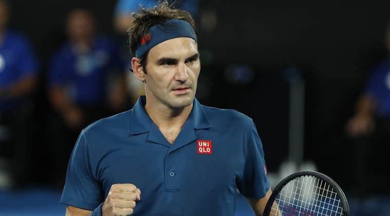 Australian Open 2019: Roger Federer marks 100th match on Rod Laver Arena with three-set win
