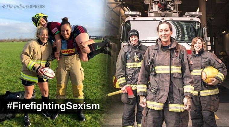 firefighters, woman firefighters, #FirefightingSexism, Hannah Summers,