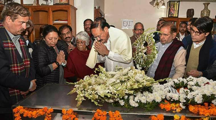 George Fernandes, George Fernandes funeral, George Fernandes death, george fernanded passes away, indian express, india news