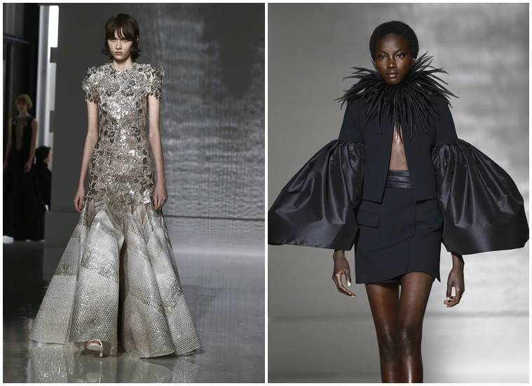 Givenchy, Givenchy couture show, Givenchy Meghan Markle, Kaia Gerber, Clare Waight Keller, Givenchy Couture's Spring 2019 collection, Givenchy couture show paris, Givenchy women's collection, Givenchy latest collection, Givenchy fashion show, Givenchy fashion show 2019, Givenchy spring 2019 fashion show, indian express, indian express news