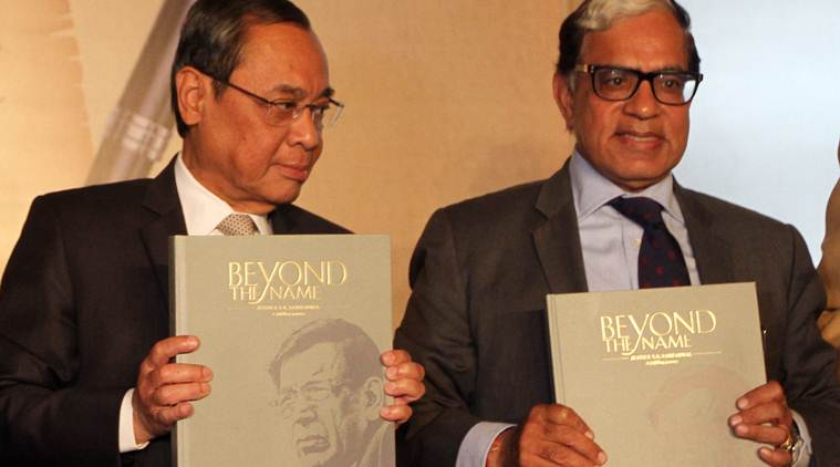 CJI recalls a former giant: Task of a judge is to sit with text of law in context of life