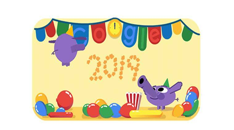 New Year, New Year 2019, Happy New Year 2019, google doodle new year, new year doodle, new year 2019 images, new year images 2019, new year quotes, new year 2019 quotes, new year 2019 greetings, new year 2019 shayari, new year 2019 shayari in hindi, happy new year 2019 quotes, happy new year 2019 quotes, new year 2019 india, google doodle
