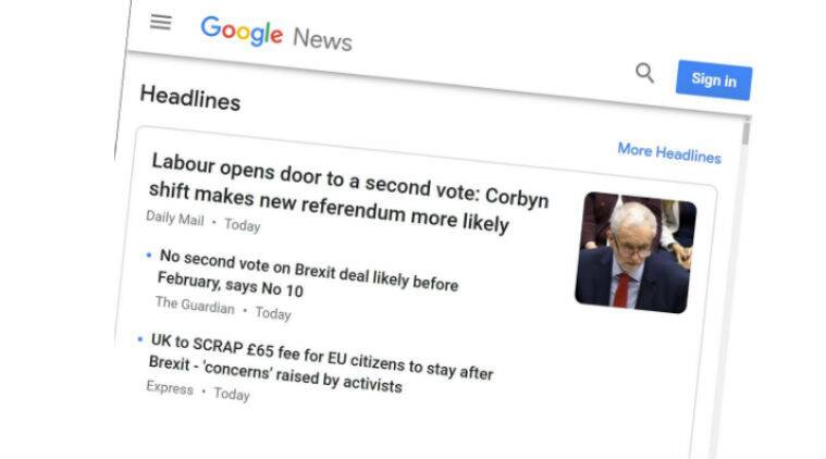 Google, Google News, Google News Europe, Google pulling News from Europe, EU, EU copyright law, Google vs EU, EU privacy Google, European Union