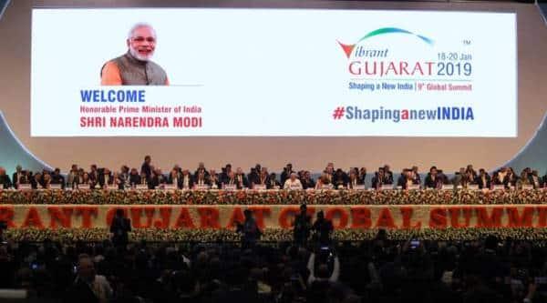 Prime Minister Narendra Modi will inaugurate the 9th edition of Vibrant Gujarat Global Summit in Gandhinagar. (Express photo/Javed Raja)