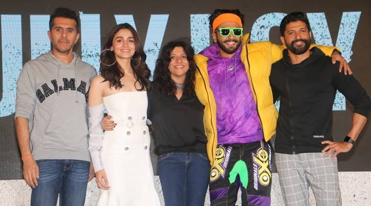 Gully Boy trailer launch: Alia Bhatt looks chic, Ranveer Singh's outfit is a riot of colours