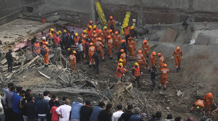 Gurgaon building collapse: For occupants of neighbouring structure, a warning bell