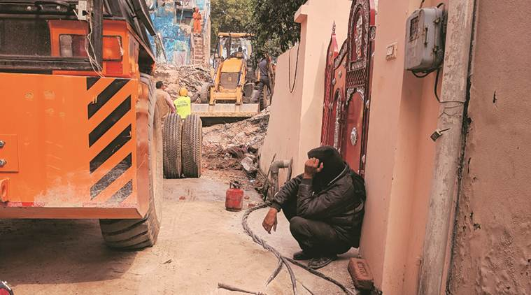 Gurgaon Ullahwas village: Dreams come crashing for father who lived in building
