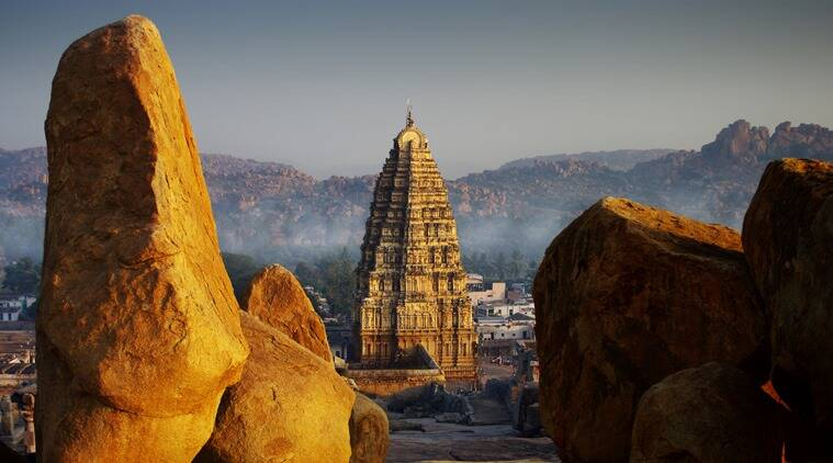 hampi, travelling with kids