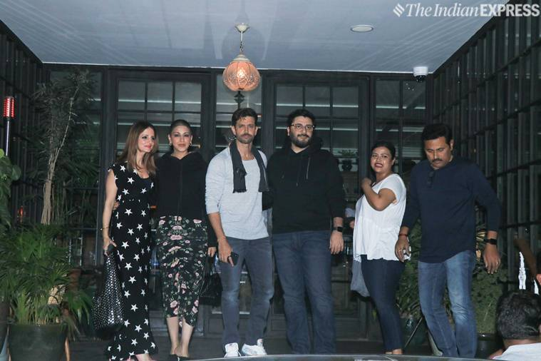 Hrithik Roshan shares family photo, says Roshan Sr is 'up and about'
