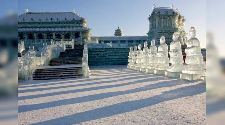 The mysterious enchantment of the annual ice festival in China's Harbin