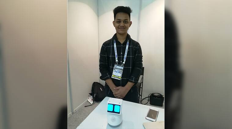 asper, robot, AI assistant, voice command, emotional intelliegnce, MOOCs, AI courses, ML courses, robotics courses, latest courses, offbeat courses, school dropout CEO, 17 year old, IIT, IIT delhi, AI initiatives, Ishant Pundir, make in india, himachal pradesh, nahal, eductaion news