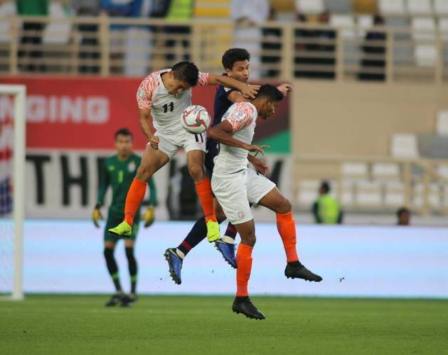 Sunil Chhetri strikes twice in India's first Asian Cup win since 1964