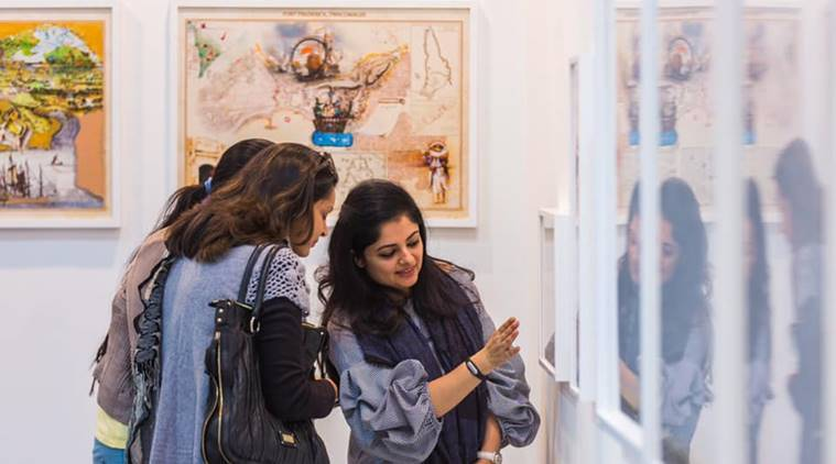 India Art Fair, India Art Summit, modern contemporary art,