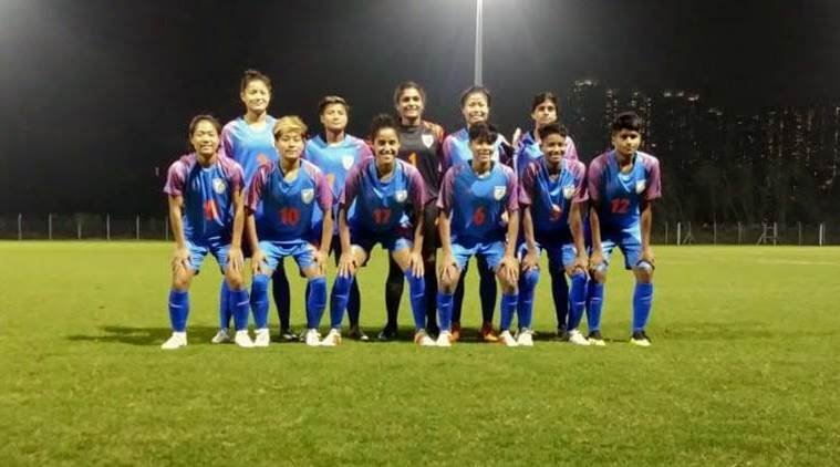 Indian women ride Dangmei Grace's brace to put five past Hong Kong