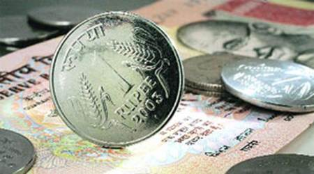 rupee, rupee falls, rupee vs dollar, rupee market, shares, forex, foreign exchange, exchange rate, indian express