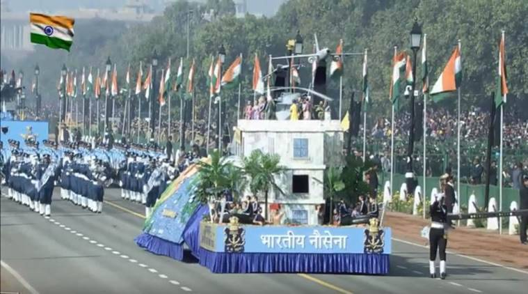 Republic day, republic day parade, republic day show, r day, r day news, rday parade,indian navy, rescue operation, kerala flood rescue operation, indian express
