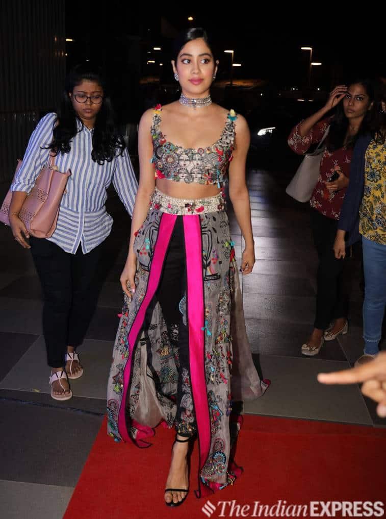 Janhvi Kapoor, Janhvi Kapoor fashion