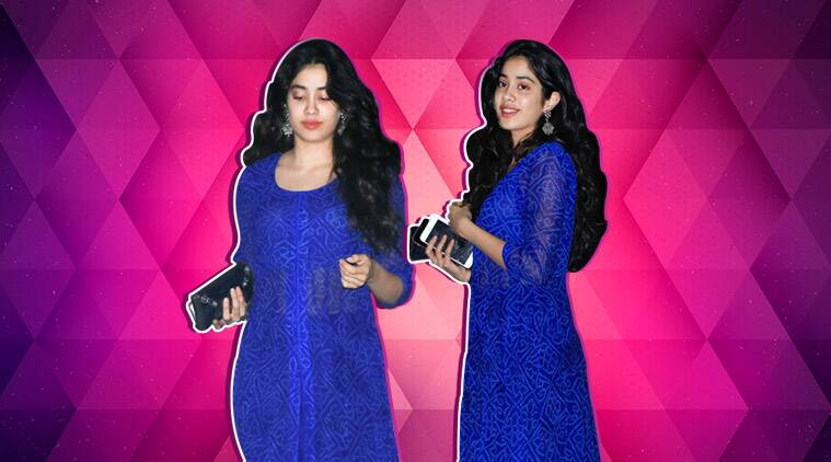 Janhvi Kapoor, Janhvi Kapoor fashion, Janhvi Kapoor latest news, Janhvi Kapoor latest fashion, janhvi kapoor style, janhvi kapoor updates, Janhvi Kapoor ethnic wear, Janhvi Kapoor salwar suit, celeb fashion, bollywood fashion, indian express, indian express news