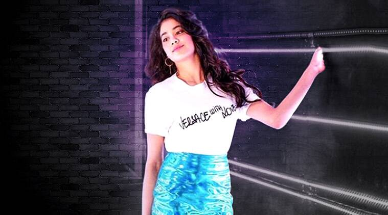 Janhvi Kapoor, Janhvi Kapoor fashion, Janhvi Kapoor quirky lehenga, Janhvi Kapoor movies, Janhvi Kapoor pictures, bollywood fashion, indian express, indian express news