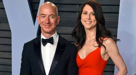 MacKenzie Bezos commits to give away half of her fortune to charity