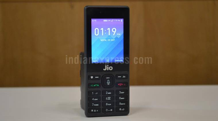 Reliance Jiophone With Six Months Free Service At Rs 1095
