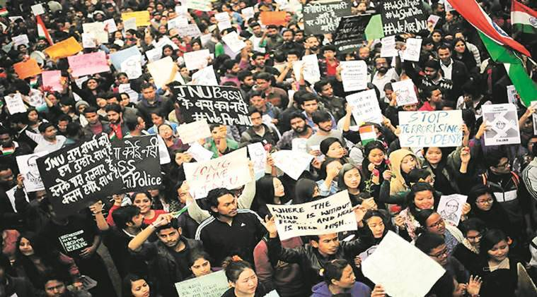 JNU sedition chargesheet: Police named 14 students as witnesses,all with links to ABVP