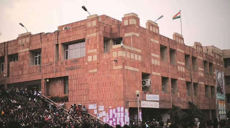 JNU, jnu attendance, hc order on jnu attendance, jnu counsel directive attendance, indian express