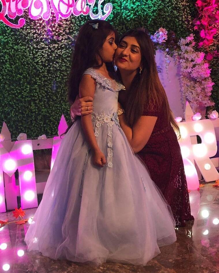 Juhi Parmar daughter birthda