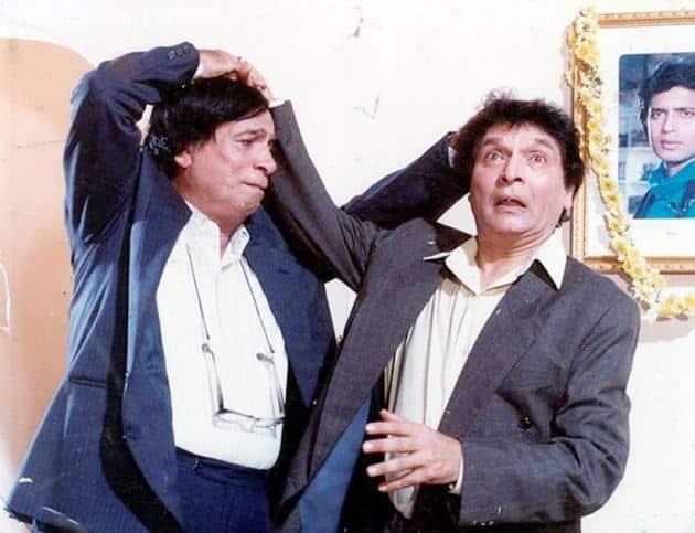 kader khan and asrani