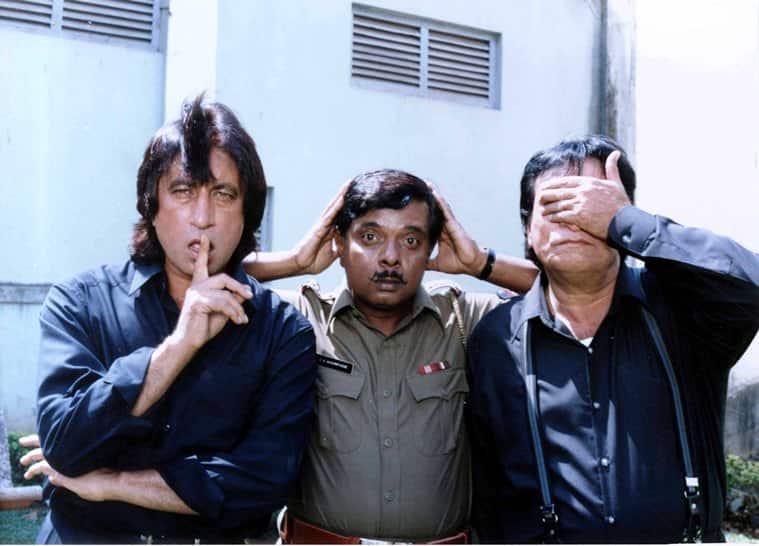 Shakti Kapoor, Sadashiv Amrapurkar, Kader Khan