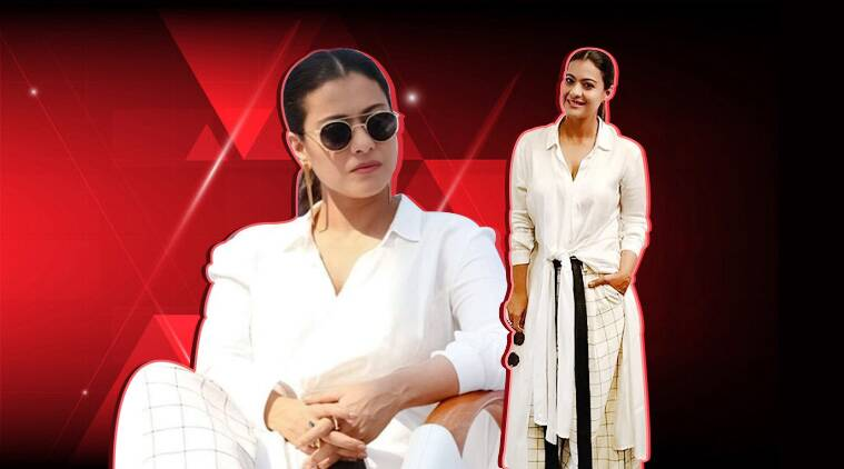 Kajol gives lessons on how to pull off a fusion outfit
