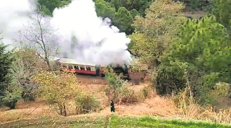 Himalayan Queen engine catches fire, passengers safe, railway orders probe