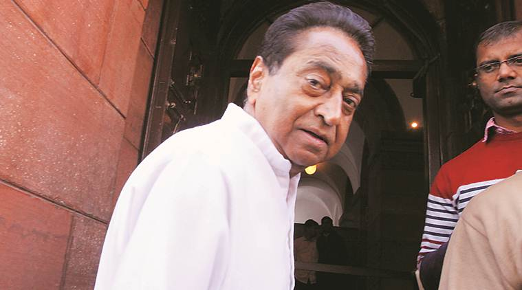 Madhya Pradesh Chief Minister Kamal Nath. (Express file photo)