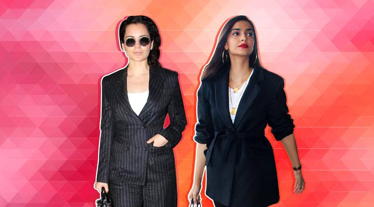 It's the season of suits: Kangana Ranaut and Sonam Kapoor pave the way to power dressing