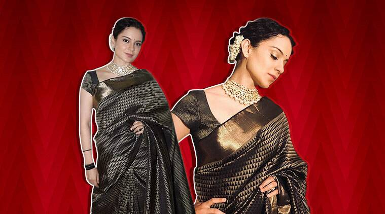 Manikarnika promotions: Kangana Ranaut stuns in this sari gifted by Rekha