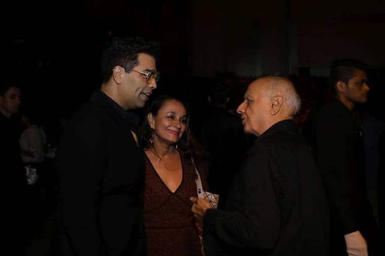 Karan johar, Mahesh Bhatt and Soni Razdan